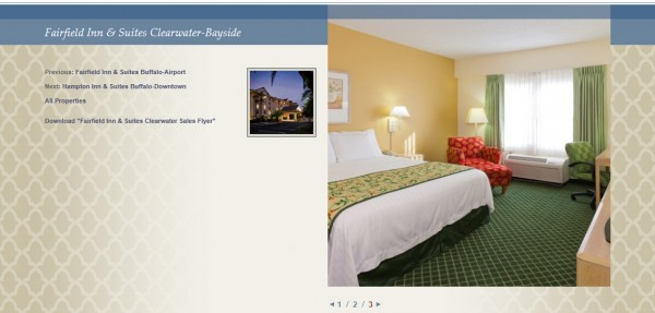 Buffalo Lodging Associates Inner Page Screen