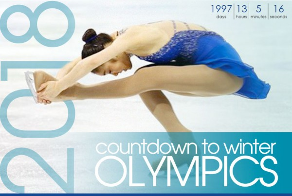 Spotlight Korea Olympics Countdown