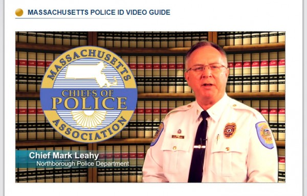 MA Police ID Video Screen