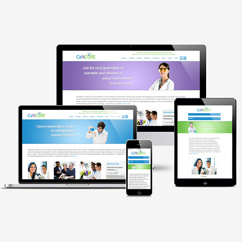 CaNCURE Responsive Site