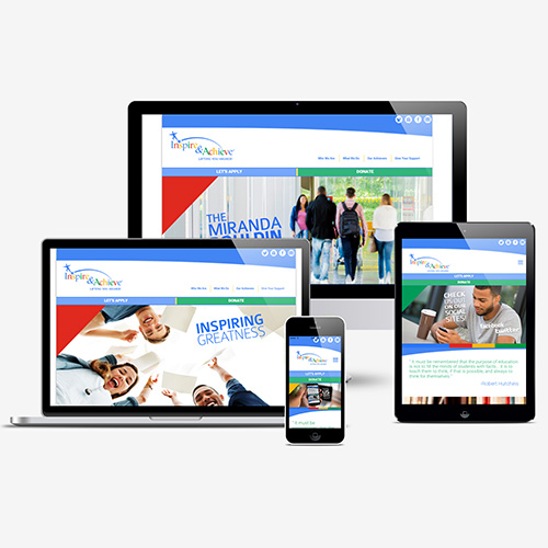 Inspire and Achieve Responsive site