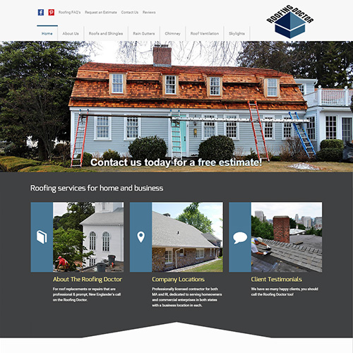 Roofing Doctor Homepage