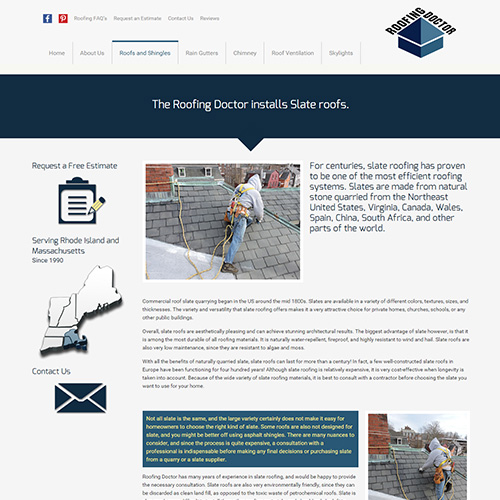 Roofing Doctor Slate Roofs